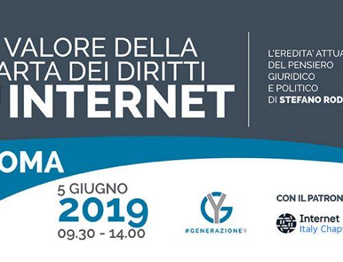 Incontro: Il valore della Carta dei Diritti di Internet